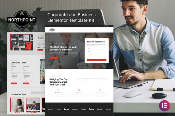 Northpoint - Business & Corporate Elementor Template Kit - Business & Services Elementor