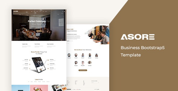 Asore Business Bootstrap 5 Template