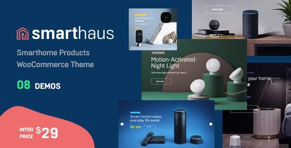 Smarthaus - Smarthome Products WooCommerce Theme - WooCommerce eCommerce