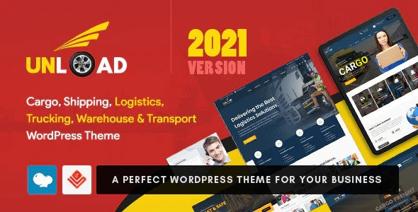Unload - Cargo, Shipping, Logistics, Trucking, Warehouse & Transport WordPress Theme - Business Corporate