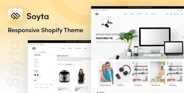 Soyta - Multipurpose Shopify Theme - Shopify eCommerce