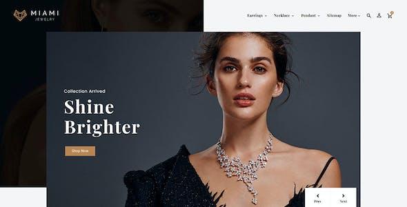 Miami Jewelry - OpenCart Multi-Purpose Responsive Theme
