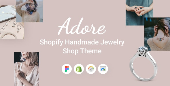 Adore - Shopify Handmade Jewelry Shop Theme - Health & Beauty Shopify