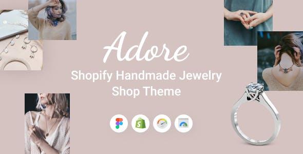 Adore - Shopify Handmade Jewelry Shop Theme
