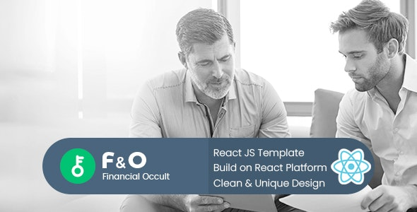F&O - Consultant Finance React JS Template - Business Corporate