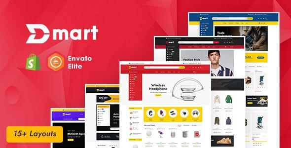 Dmart - Shopify Multi-Purpose Responsive Theme - Shopping Shopify
