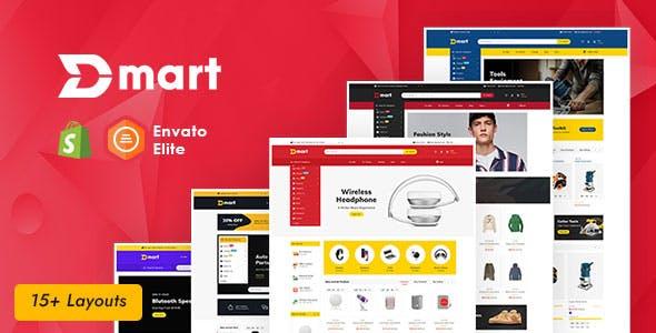 Dmart - Shopify Multi-Purpose Responsive Theme