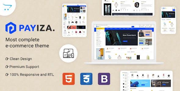 Payiza - eCommerce OpenCart Theme