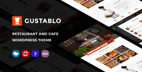 Gustablo | Restaurant & Cafe Responsive WordPress Theme - Restaurants & Cafes Entertainment