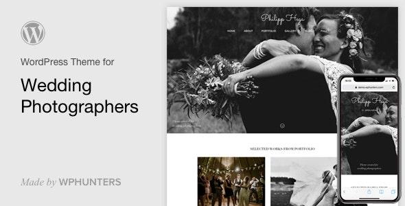 PH - Wedding Photography Portfolio WordPress Theme - Photography Creative