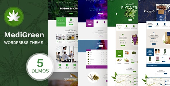 MediGreen - Cannabis & Medical Marijuana Shop - Health & Beauty Retail