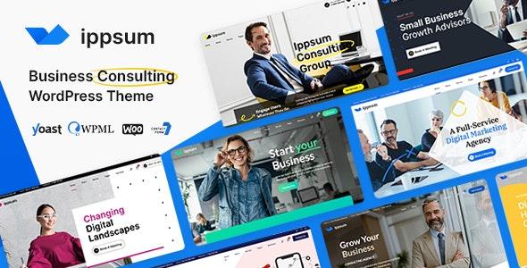 Ippsum - Business Consulting - Business Corporate