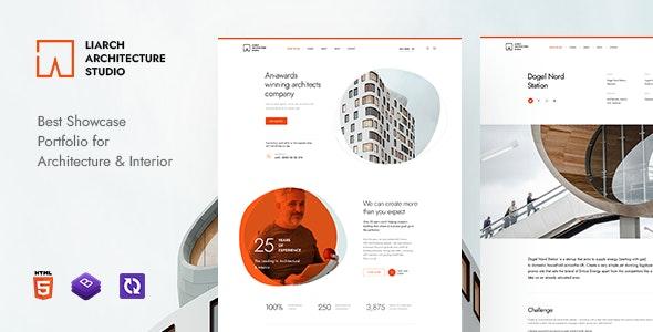 Liarch - Architecture & Interior HTML Template - Business Corporate