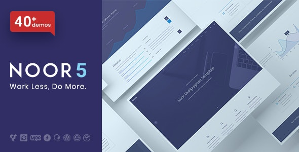 Noor - Minimal Multi-Purpose WordPress Theme, AMP & RTL - Creative WordPress