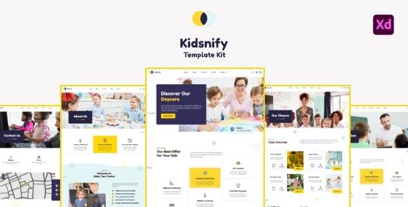 Kidsnify - Daycare Template Kit