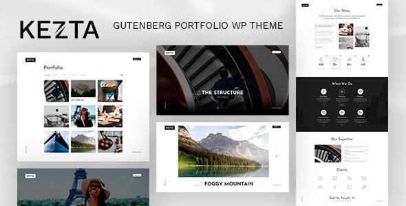 Kezta - Gutenberg Portfolio for WordPress - Portfolio Creative
