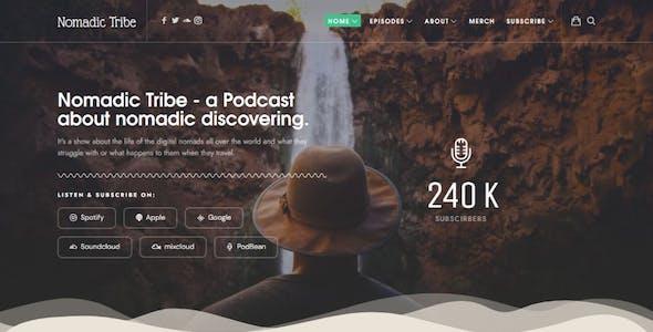 Episody - Podcast Audio WordPress Theme