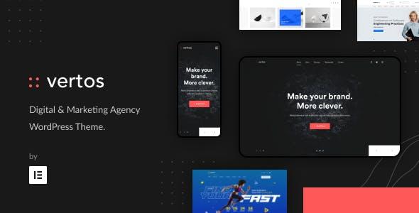 Vertos | Digital & Marketing Agency WordPress Theme