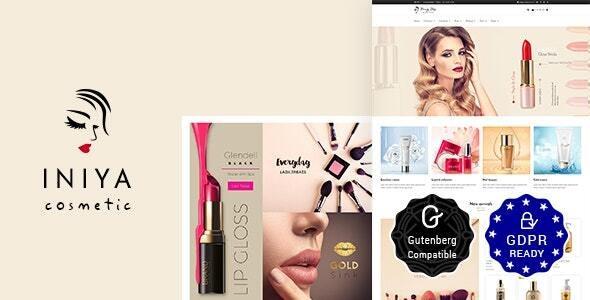 Iniya - Beauty Store, Cosmetic Theme - Health & Beauty Retail