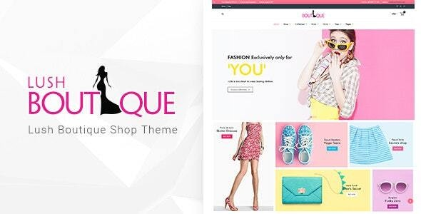 LushBoutique - Fashion WordPress WooCommerce Theme - Shopping Retail
