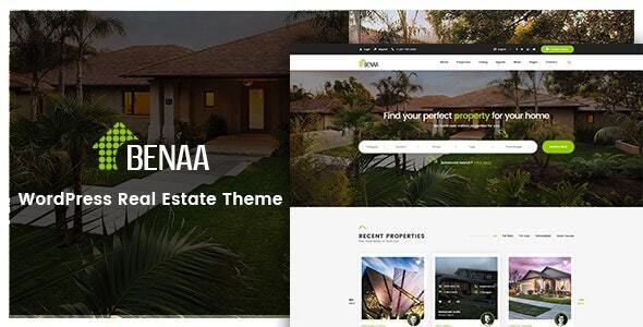 Benaa - Real Estate WordPress Theme - Real Estate WordPress
