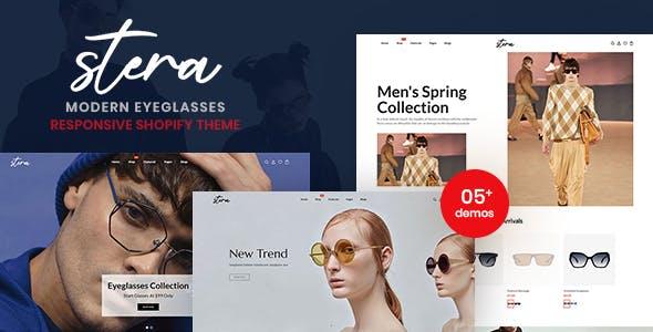 Stera - Modern EyeGlasses Responsive Shopify Theme