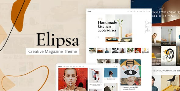 Elipsa - Creative Magazine Theme