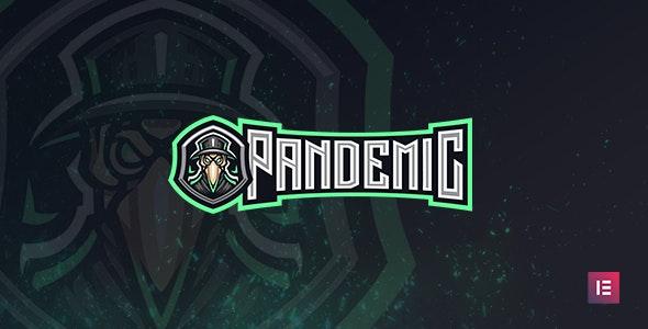 Pandemic - Esports Gaming WordPress Theme - Entertainment WordPress