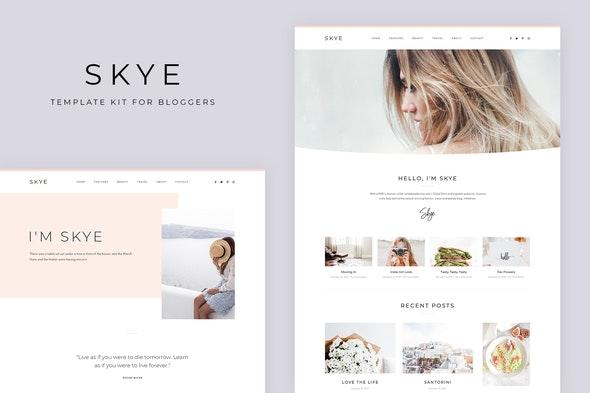Skye - Modern Blog Elementor Template Kit - Blogs & Podcasts Elementor