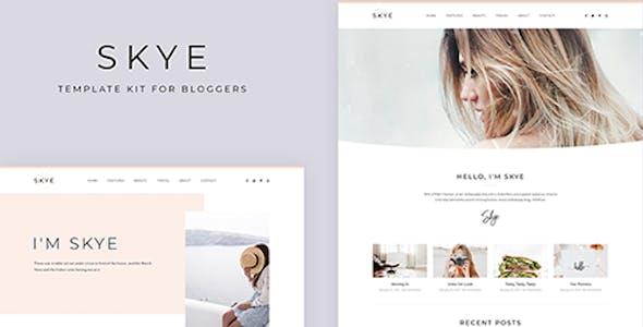 Skye - Modern Blog Elementor Template Kit