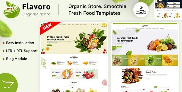 Flavero - Organic Food OpenCart Store - Shopping OpenCart