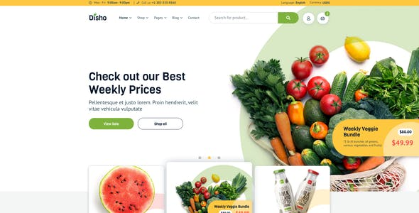 Disho – Grocery Store for Sketch