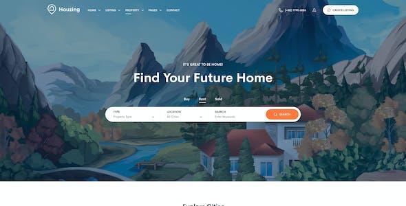 Houzing - Real Estate Figma Template