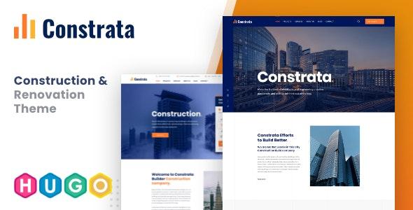 Constrata - Construction & Renovation Hugo Template - Static Site Generators