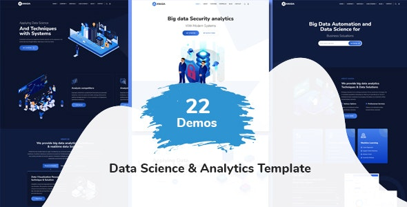 Anada - Data Science & Analytics Template - Technology Site Templates