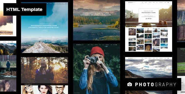 Photography HTML Template - Photography Creative