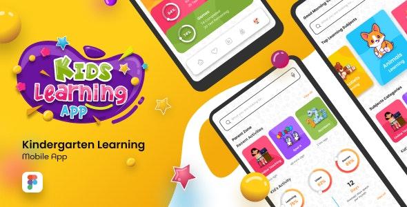 Back2School | Kids Learning App Figma Template - Miscellaneous Figma