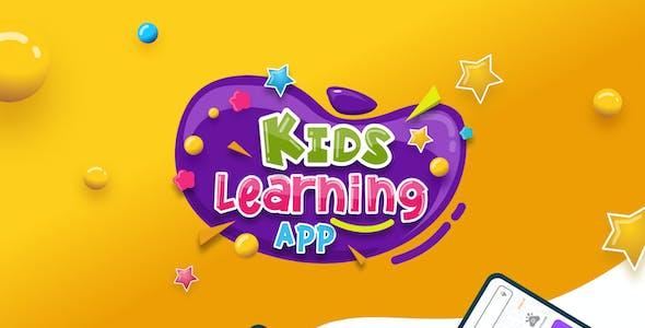 Back2School | Kids Learning App Figma Template