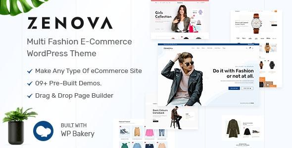 Zenova - Fashion Multi WooCommerce WordPress Theme - WooCommerce eCommerce