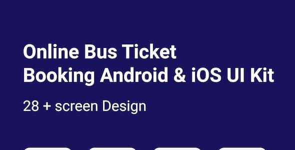 BusTick - Bus Booking Mobile UI Design
