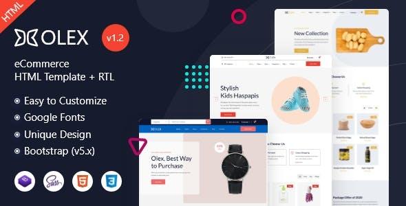 Olex - eCommerce HTML Template