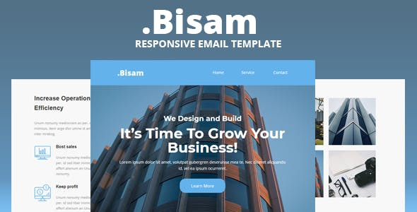 Bisam - Responsive Email Template
