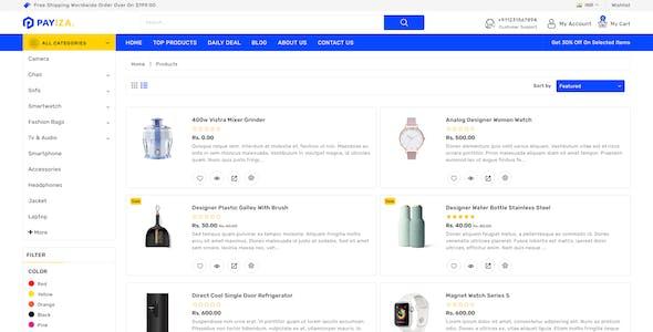 Payiza - Multipurpose Shopify Responsive Theme