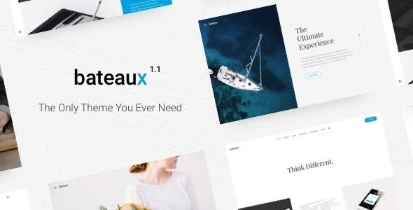 Bateaux - Creative Multi-Purpose WordPress Theme - Creative WordPress
