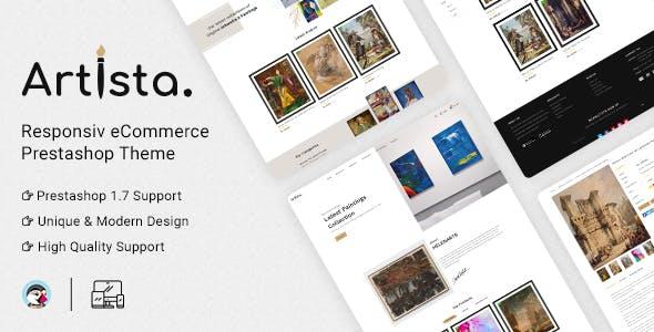 Artista - Artist & Painting Designers Agency PrestaShop