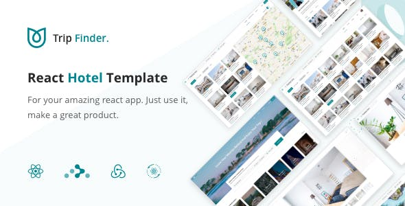 TripFinder - React Hotel Listing Template