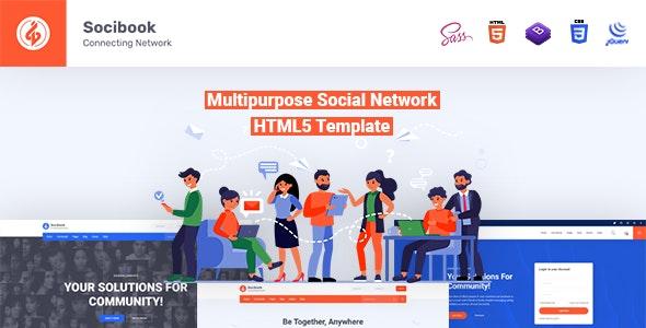 Socibook | Multipurpose Social Network HTML5 Template - Miscellaneous Site Templates