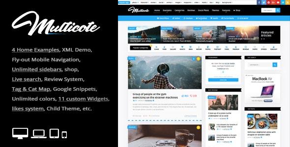 Multicote - Magazine and WooCommerce WordPress Theme - News / Editorial Blog / Magazine