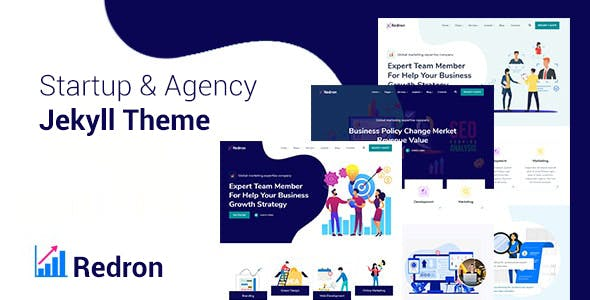Redron - Startup & Agency Bootstrap 5 Jekyll Theme