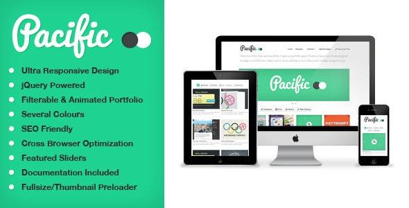 Pacifico — A Clean, Responsive Portfolio Layout - Portfolio Creative